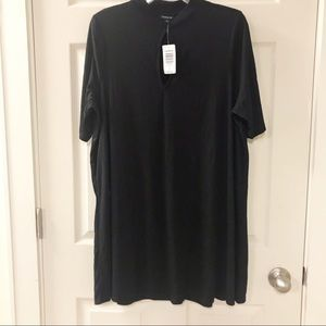 Torrid Ribbed Top with Cutout